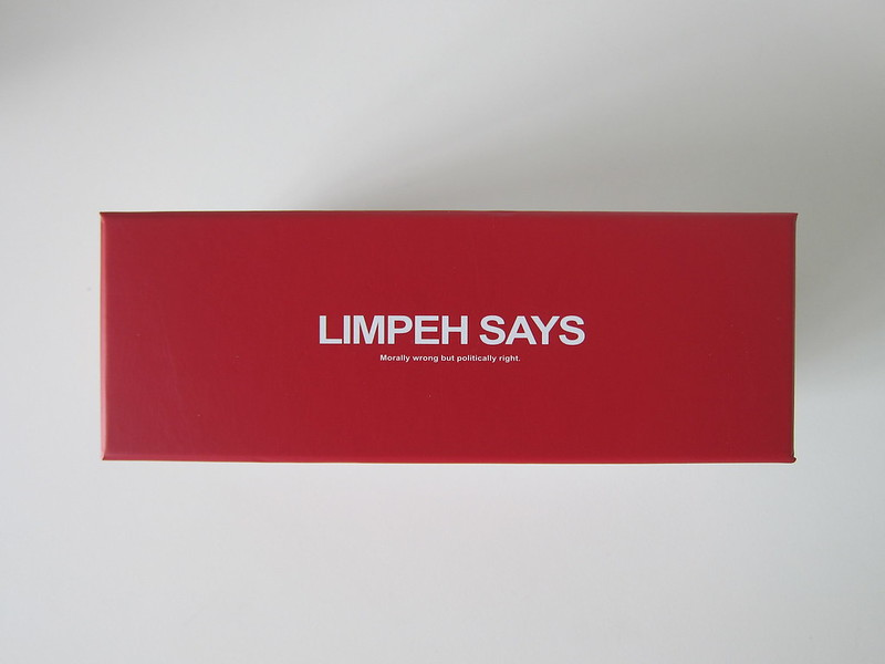 Limpeh Says - Box Top
