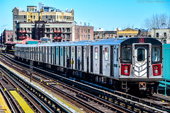 MTA New York City Subway Bombardier R142 #6345