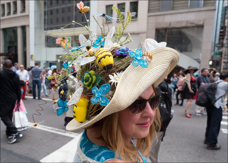 Easter Parade NYC 2017 Bees and Branches