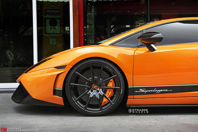 Strasse Wheels Twin Turbo Lamborghini Gallardo