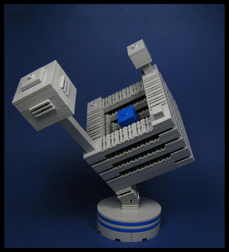 Inconsolable Spheres (custom built Lego model)
