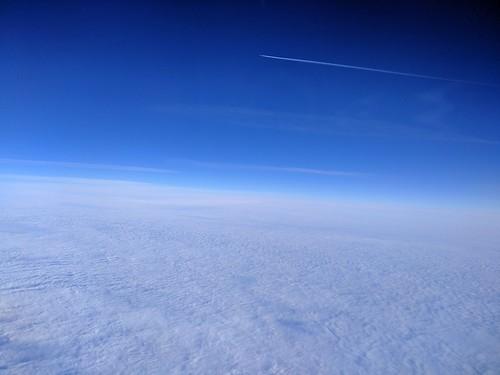 Ryanair Flight - Berlin to Stansted