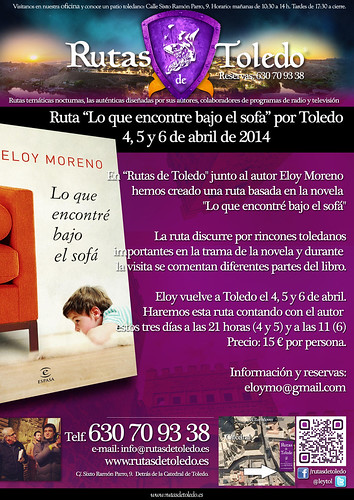 Eloy Moreno rutas por Toledo