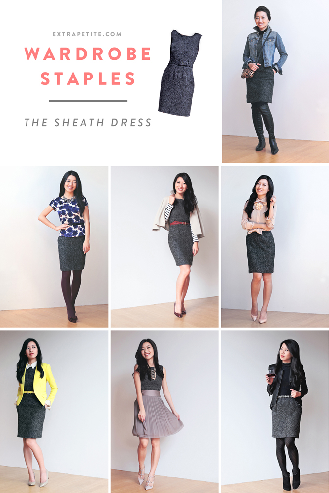 how to style a sheath dress