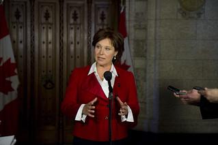 Premier Clark in Ottawa