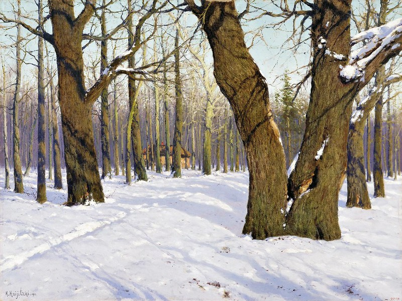 Konstantin Kryzhitsky - Poveyalo Vesnoy (1910)