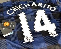 Nike Manchester United 2013-2014 Chicharito Away Jersey  5aa371ddd