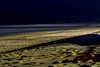 Night-time beach