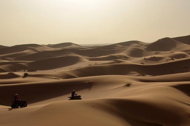 Quads por el desierto de Merzouga