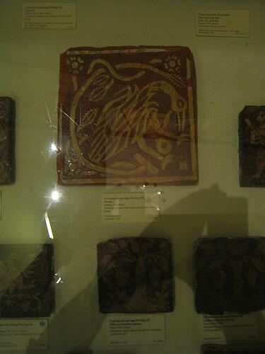 Ancient Tile - Musée national du Moyen Âge, Paris, 2008
