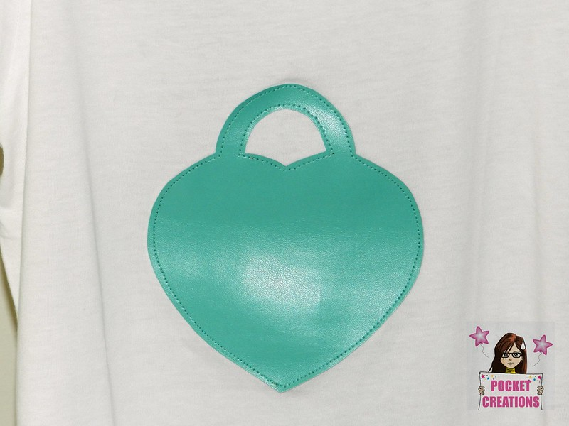 T-SHIRT CHARM CUORE