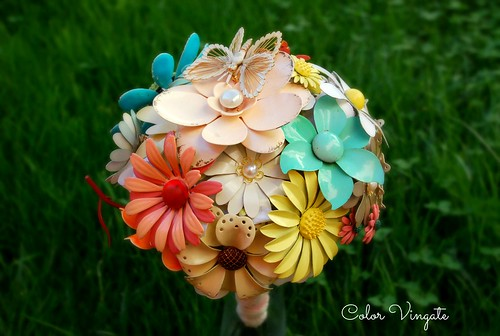 Bouquet_deColorVintage_Buterfly2