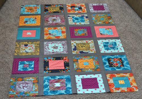 AMH simple squares quilt