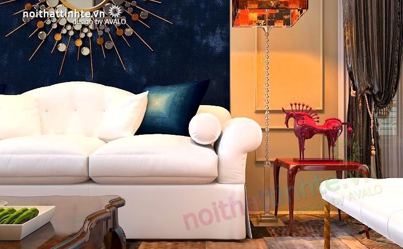 Thiết kế nội thất biệt thự song lập phong cách của nghệ sỹ mê sưu tầm nghệ thuật