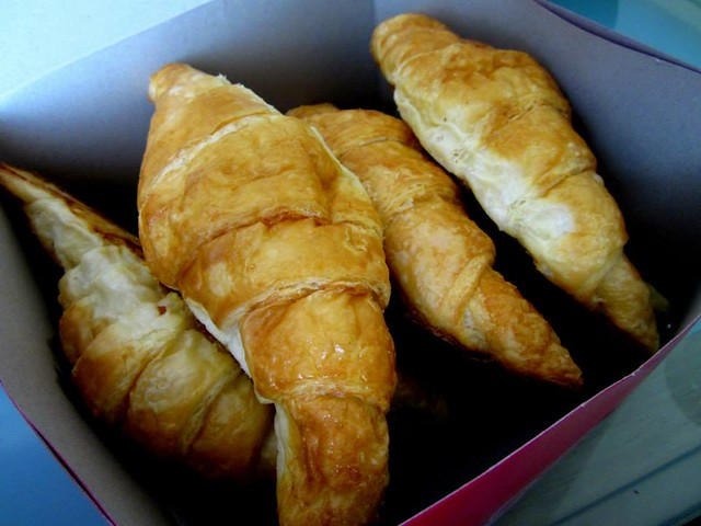 Croissants from cousin