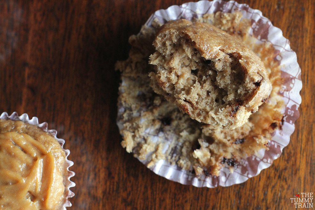 "14049975764 33be8e5431 b - Some ""Skinny"" Peanut Butter-Banana Muffins for bikini season"