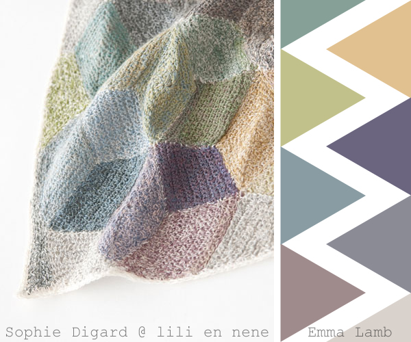 colour crochet crush overload : Sophie Digard at Lili et Nene | Emma Lamb