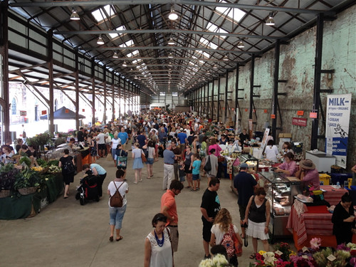 Redfern Eveleigh market