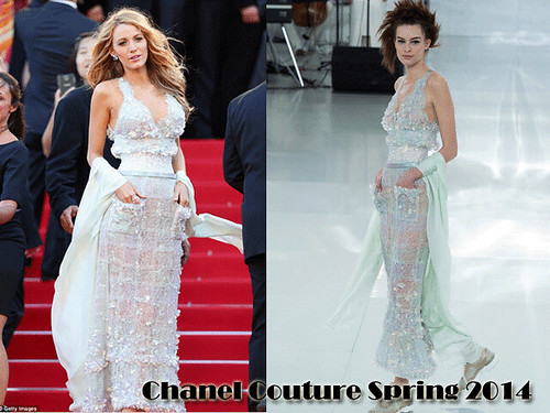 Blake Lively style at Cannes Film festival 2014