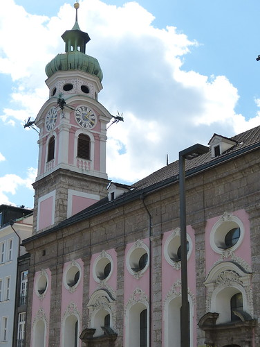 Pink church, Innsbruck