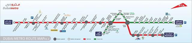 杜拜地鐵(4)_routemap1
