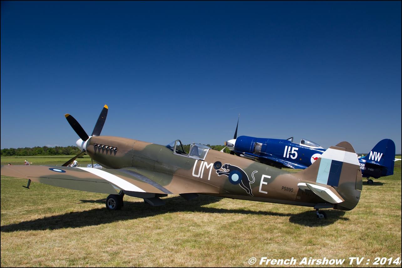 Spitfire F-AZJS, Meeting Aerien til chatel 2014