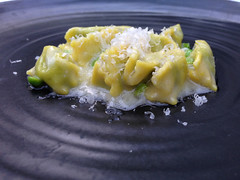Hand Made Agnolotti at SPAGO, Beverly Hills