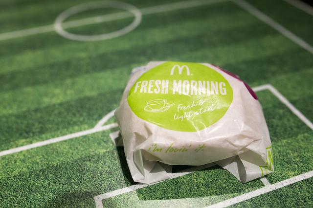 スパニッシュ オムレツマフィン FIFA World Cup 公式ハンバーガー