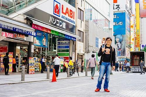 Tiendas en Akihabara 15