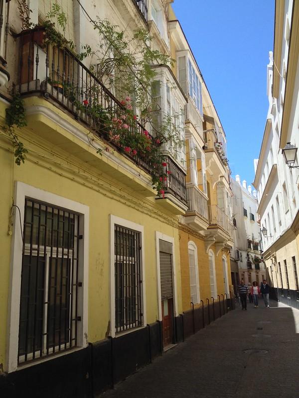 Historical streets of Cadiz