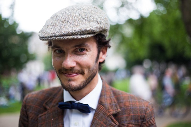 Street Style - Mathieu, Tweed Run 2014