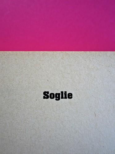Soglie, di Gérard Genette. Einaudi 1989. Responsabilità grafica non indicata [Munari]. Titolo del volume (nelle le medesime font della copertina): pag. 1 (part.), 1