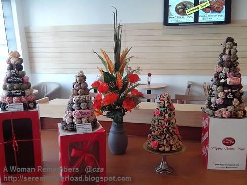 Croquembouche_Happy-Cream-Puff, Happy Cream Puff, food, Shangrila Plaza East Wing