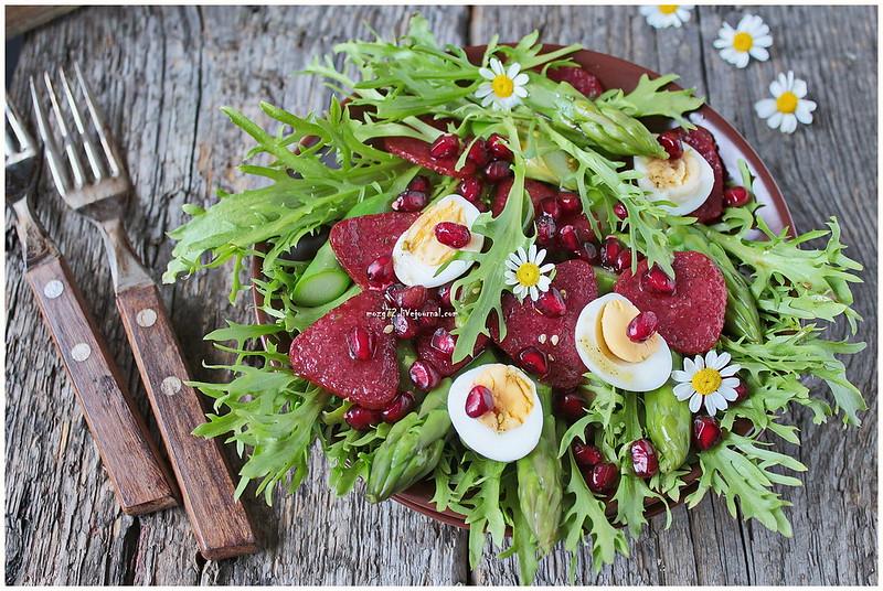 ...asparagus salate
