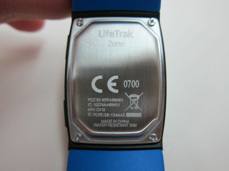 LifeTrak Zone C410 - Back