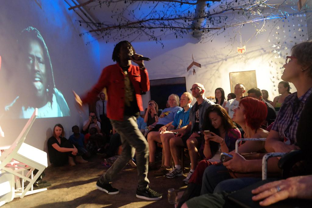 Emmanuel Jal Performs at MisfitCon 2014