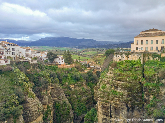 Ronda from the bridge