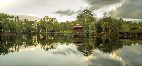 park longexposure trees light sky panorama lake reflection nature water beauty clouds photoshop sunrise landscape dawn scenery sony scenic sigma australia wideangle panoramic alpha westernaustralia daybreak lightroom nd400 a65 neutraldensity tomatolake kewdale slta65 stevekphotography