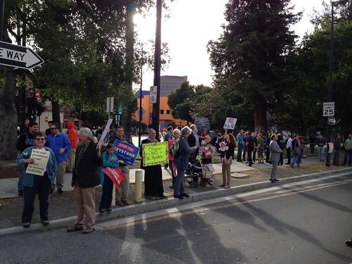 KXL protest, San Jose IMG_2482
