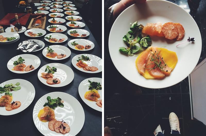 Qualitätsfisch aus Österreich / Alpenlachs Session (foodcamp 2014 - bericht auf zwergenprinzessin kocht)