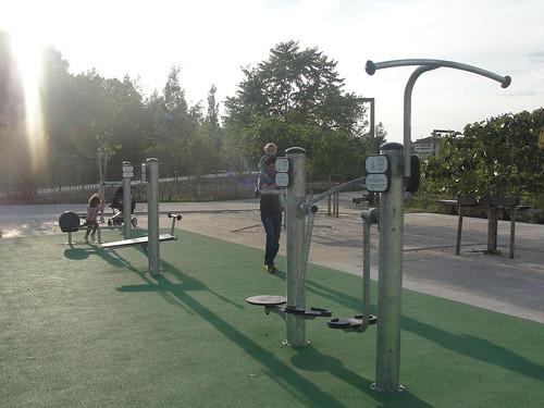thể thao đô thị parc Blandan