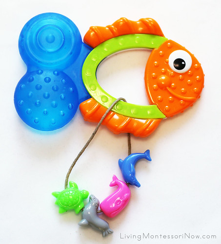 Sassy Teething Tail Fish Add-Ons