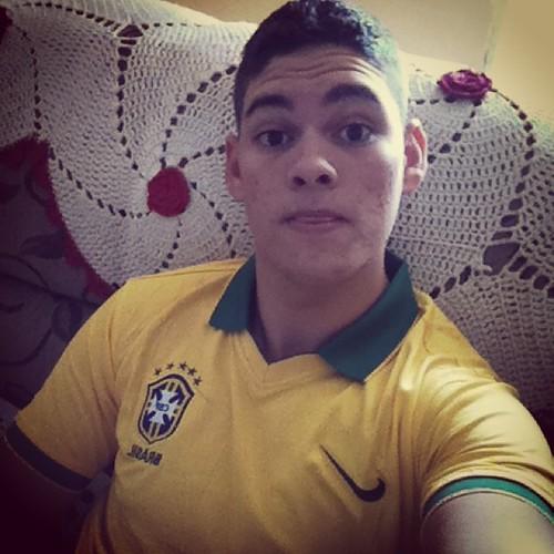 Vai ter copa sim e se zuar vai ter Duas. #selfi #vaibrasil #copa #tmj #meuovo