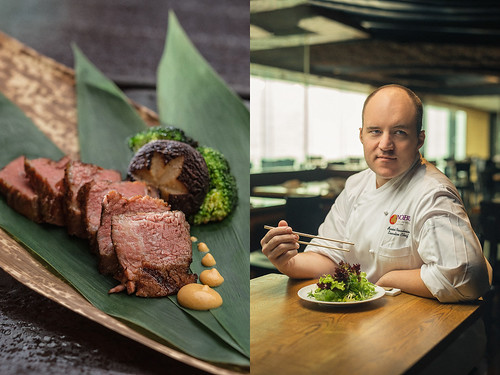 Oyvind Naesheim, Chef of the NOBU InterContinental, Hong-Kong