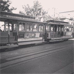 metropolitan area, passenger, vehicle, cable car, tram, transport, public transport, passenger car, monochrome photography, rolling stock, land vehicle, monochrome, black-and-white, railroad car,
