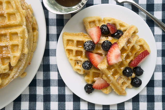 """North Market"" Raised Waffles"
