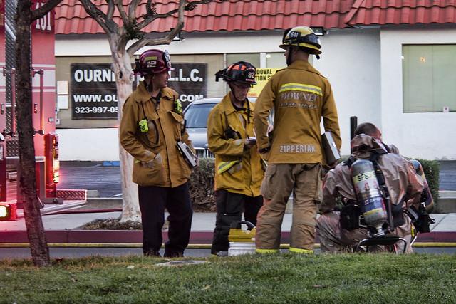 Fire dept response to hazmat