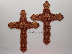 religious item, brown, symbol, cross,