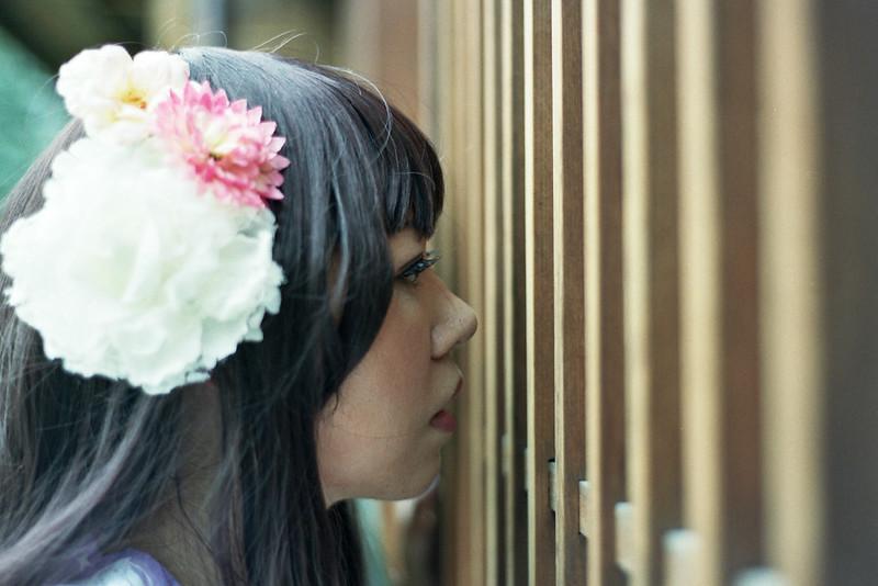 [Nikon F100] 西本願寺 浴衣拍