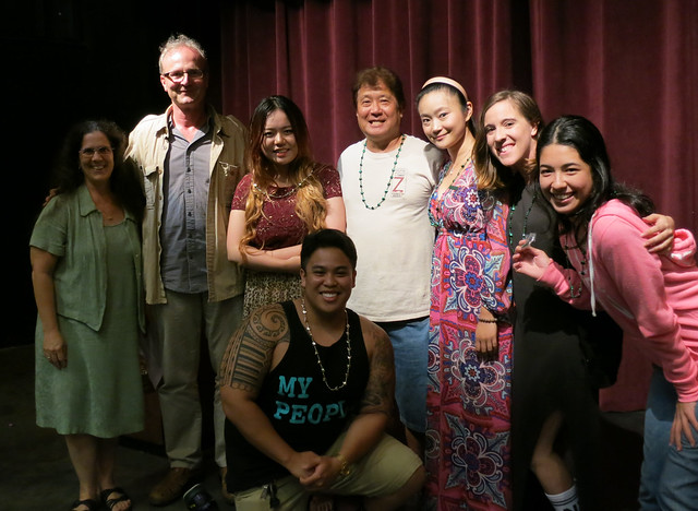 <p>Undergraduate theatre majors receiving their BA's this spring are recognized by UH Manoa Department of Theatre and Dance faculty members at the spring awards ceremony.</p>